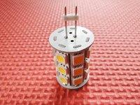 Free Shipping Retail & Wholesale 27 SMD5050 High Bright G4 LED Corn Light Bulb Home Energy Save Lamp Bulb DC12V