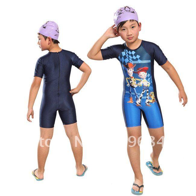 Traje Baño Natacion Ninos:Traje de baño para bebés de los niños traje de baño de diseño de