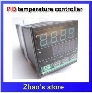 PID Temperature Controller F/C relay or Voltage (SSR) output Dual Digital display REX-C100
