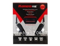 . free shipping Kanen KM-870 3.5 mm 103 db 20-20 KHz Wired Headphone (Silver) .mp3 earphone. computer headset.
