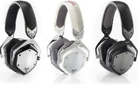 V-MODA Crossfade LP Over-the-Ear Headsets Fashion Headphones (White/Chrome) With ControlTalk Freeshipping