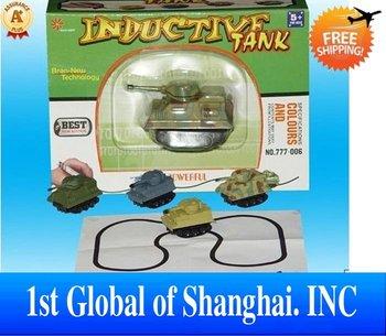 New 2013 Novelties Innovative Items Kids toys Mini Magic Pen Inductive Fangle Children's Tank Toys For Boys Magic Toy