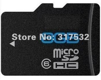 Free shipping Real full capacity 8GB Class 6 Micro sd card Transflash TF CARD