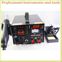 2310 saike 909D rework station hot air gun soldering station with power 3 in 1 220V or 110V 700W