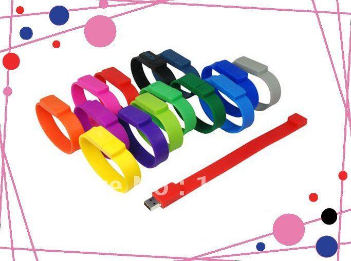 Promotion gift Usb Flash Drive 4GB Lucky bracelet usb Free Shipping(China (Mainland))
