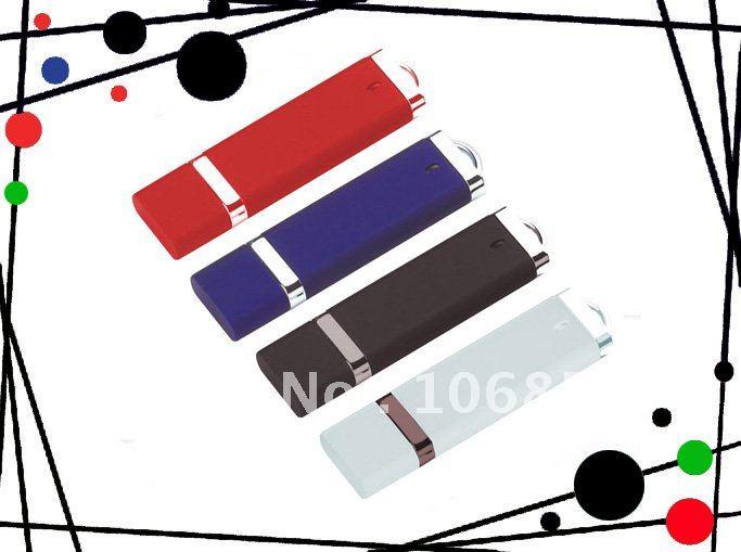 Wholesale Promotion Usb 1-16GB,Plastic Usb flash Drive 1GB Free Shipping(China (Mainland))