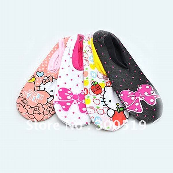 Wholesale Summer Hot Sale!  Socks fashion Cute sock slippers cotton socks sport sock 24pairs/lot Free Shipping