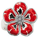 wholesale  and dropshiping sterling silver flower style  finger ring   hottest sale THSR04