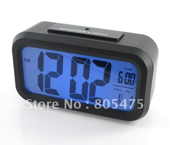 LED Alarm Clock+Snooze+Background Noctilucent Light 793