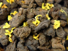 1998year Fragrant Osmanthus Lao Cha Tou Puerh,100g Old Tea Tugget, 4oz Aged Loose pu'er,Pu er,PL01G, Free Shipping