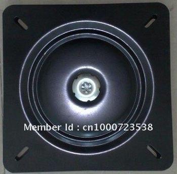 12 inch black 360 degree and flat swivel plate ,furniture hardware, barstool turntable