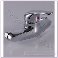 Retail- Luxury Brass Shower Faucet, Exposed Wall Mounted Bath-Shower Faucet, Free Shipping L15680