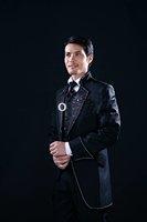 2012  hottest  Free Shipping 2011 Men complete designer wedding Bridegroom suit/Groom wear /Tuxedo /tail coat(Clothes+Pants+tie