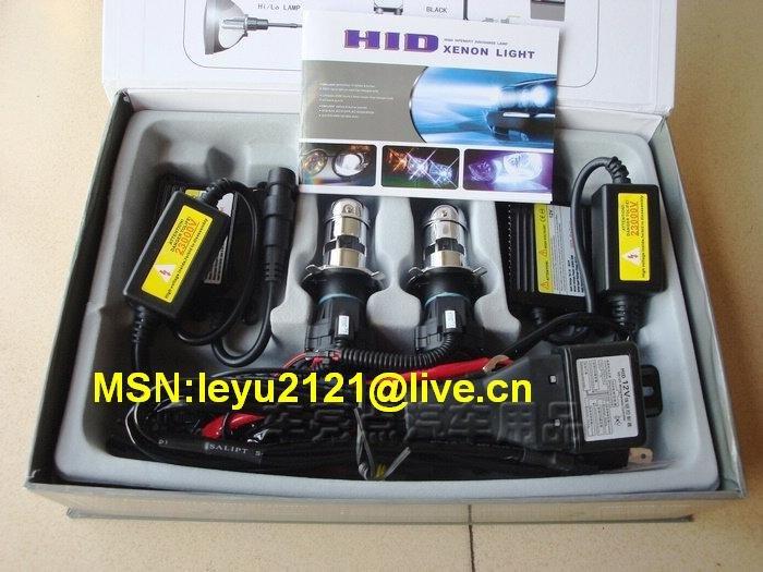 7sets per lot 24V 55W 35W Hid bi-xenon auto 9007BI-XENON H4 H/L 3000K--12000K hid headlight XENON H/L(China (Mainland))