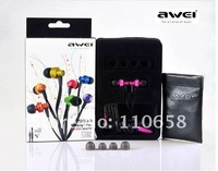 dropshipping AWEI ES-900I  in-ear earphone for universal mobile phones and players