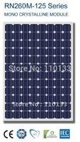 260Watt New Nano Coating & Self Cleaning Solar PV Panel
