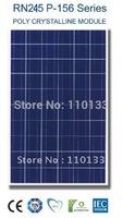 245Watt New Nano Coating & Self Cleaning Solar PV Panel