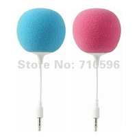 Hot! Multi-Color * 50pcs * Creative Mini Music Balloon Speaker, Cute Music Ball for MP3 MP4 Cell Phone