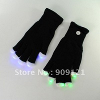 Multicolor LED Glow Gloves   Flashing  Magic Mitt LED Gloves For Rave Dance