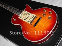 Style Musical Instruments custom very nice Cherry red burst Orange electric guitar