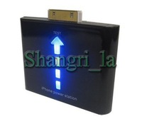 1000mah Emergency charger for iphone 4S 4G portable charger with retail package free shipping