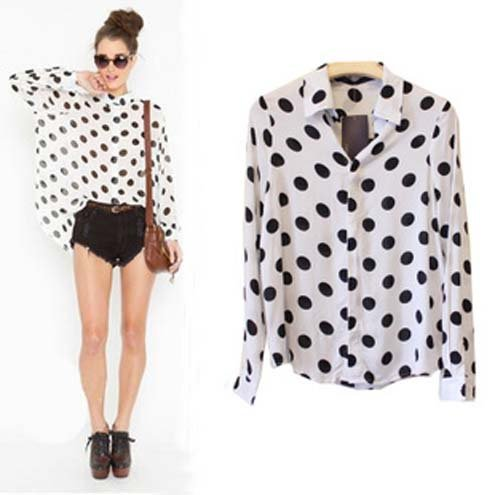 Womens Black And White Shirt | Is Shirt