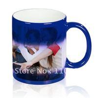 Free shipping !! Color changing mug, personalized mug, customized coffee mug