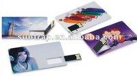 hot  selling 8GB credit card USB flash pendrive USB card
