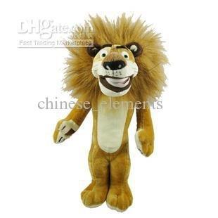Fashion Cool children film gifts Madagascar Aili Lion Plush Doll Toy jumbo XL size 68 cm AC016