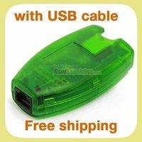 Green MX Box  (HTI / mxbox) + USB A-B Cable Gift for Nokia Unlock & Flash + Free Shipping