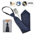 Free Shipping Mini Camera Tie with Wireless Remote - 4GB DVR Built-in,Tie DVR Video and Audio Recorder with Remote Control