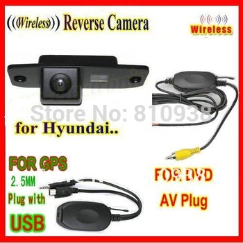 WIRELESS night vision car rear view camera reversing backup for Hyundai Tucson Accent Elantra Terracan Veracruz Sonata