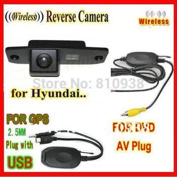 WIRELESS night vision car rear view camera reversing backup for Hyundai Tucson Accent Elantra Terracan Veracruz Sonata
