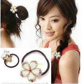 fashion graceful flower-shape hair jewelry for women T6109