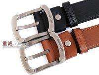 Authentic Belt Septwolves Fashion Men's  Leather Blet  3 types
