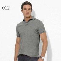 Free shipping Wholesale-new style fashion Brand men's polo shirt  t-shirt  polo Shorts sleeve shirt size:s-xxl 003