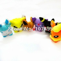 New 6''  Pokemon Pikachu plush toys Pocket Monsters game pokemon tower defensestuffed animal doll 100Pcs/Lot  EMS freeshipping