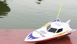 Discount!!! unique toys 35cm R/C Racing Boat RC Electric Radio Remote Control Speed Ship rc Toys boats(HQ-950-10) 220V charge(China (Mainland))
