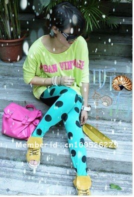 Women Fashion Lace Rose Legging Free Shipping