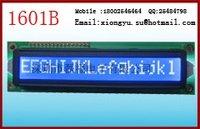 LCD modules 16 x 1 big size yellow-green or Blue-white 1601B Appearance:122x33.0x13.0 Field:99.0x13.0 Dot size:4.84x8.06