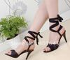 Bud silk foot ring belt sandals with high with the women's shoes fine princess shoes