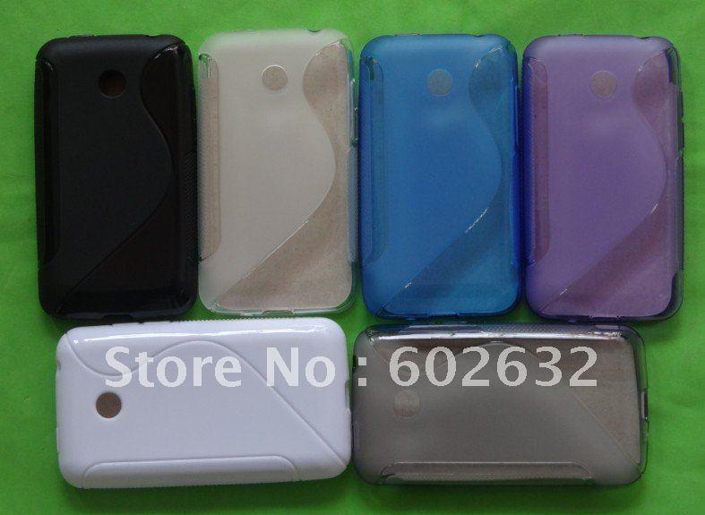 Чехол для для мобильных телефонов 1pcs S Line TPU Gel Case For LG Optimus Hub / Univa E510