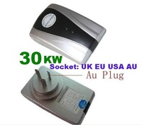 Free shipping Household -type Power Saver with 30KW Useful Load/Single Phase 30KW Power Saver with UK.EU.USA. AU socket