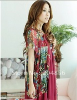 Free shipping red or white lady dress fasihon  Women Dress