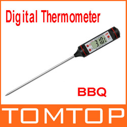 Kitchen Cooking Food Meat Probe Digital BBQ Thermometer, free shipping Wholesale(China (Mainland))
