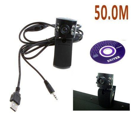 Free Shipping 1 3 Mega pixel 6 LED Web Cam USB Webcam PC Camera Laptop w Spy cam sex episode