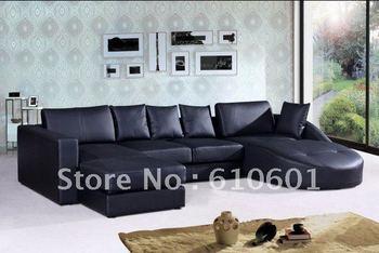 living room sofa/Modern leather sofa WW008