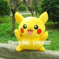 Free Shipping Soft Plush toy, Pikachu Plush Doll, super cute, Children&#39;s day gift 1pc