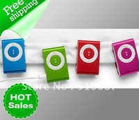 Free shipping Mini Clip Mp3 player Support  Micro 1G-8G SD/TF Card mp4 player China post