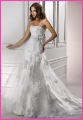 Free shipping new arrival full lace empire wedding dress White Bridal Gowns, Wedding Dresses 2012 Olivia